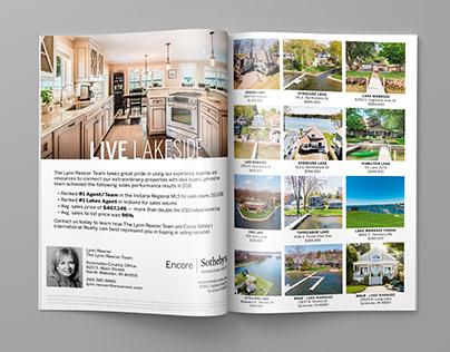 Homes & Lifestyle Magazine - Full Spread Ads