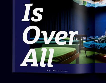 Louisiana Magazine Design