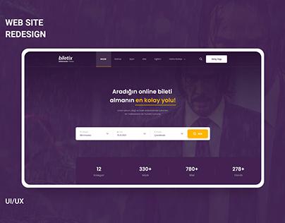 Biletix Web Site Redesign