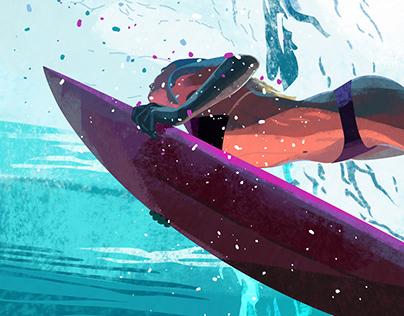 Surf locos | illustration set 2021