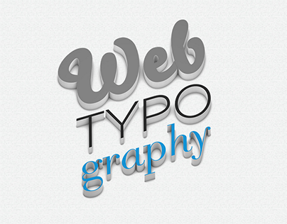 Bachelor Thesis - Webtypography