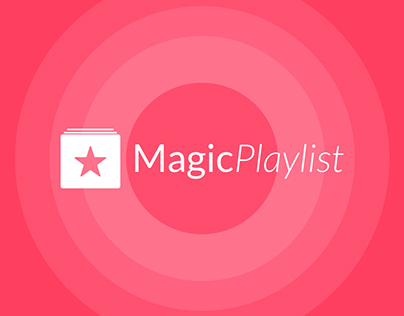 MagicPlaylist – UI/UX Design
