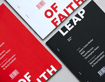 Leap of Faith – Magazine