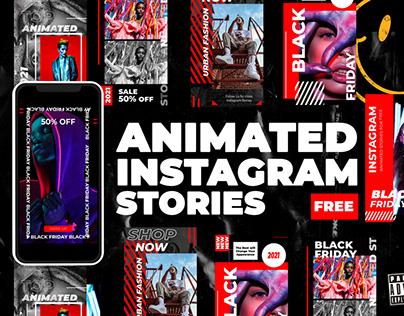 Free Animated Instagram Stories Vol.1