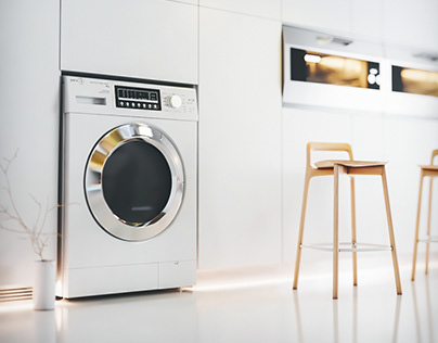home appliance Modeling and Rendering