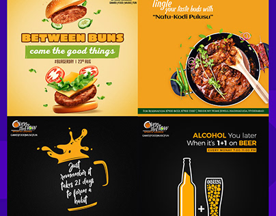 Social Media Food & Beverages Design