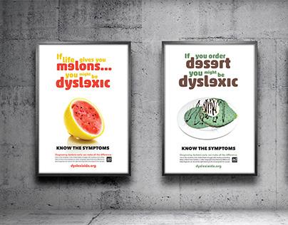 PSA Campaign Posters - Dyslexia