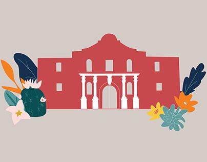 The Alamo | Illustration