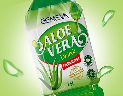 Aloe Vera Drink Label Project