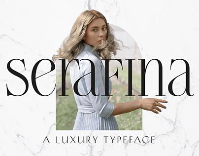 Serafina - Typeface