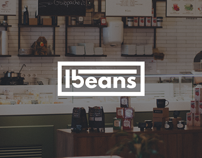 15 beans - Coffee House Brand Identity (2018)