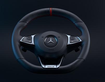 2018 AMG Mercedes Benz E63 S Premium Steering Wheel