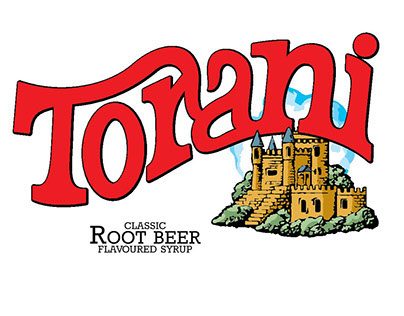Torani Flavoured Syrup Redesign