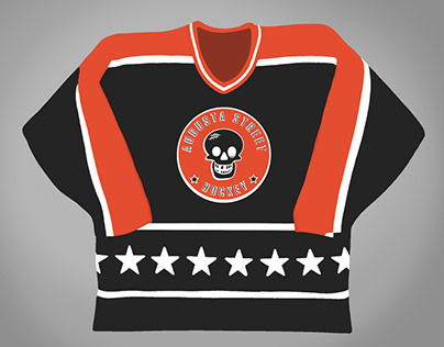 1984 Campbell NHL All Star inspired Jersey