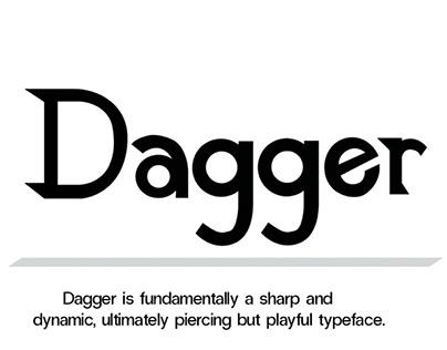 Dagger Typeface