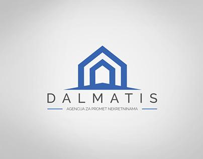 DALMATIS - Real Estate Agency logo design