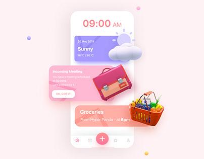 Task Manager: App Design Concept