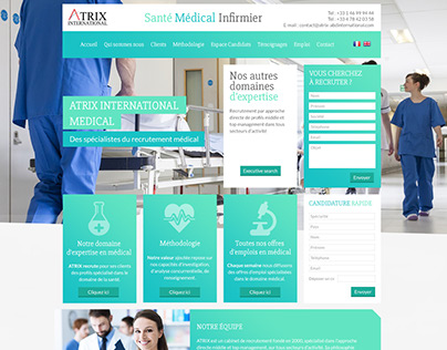 Web design homepage graphics research