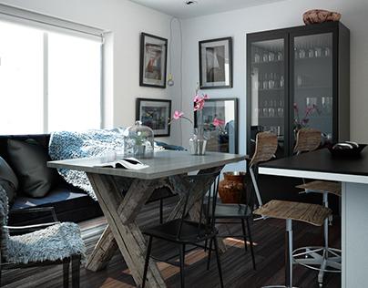 Salón Nórdico / Nordic lounge