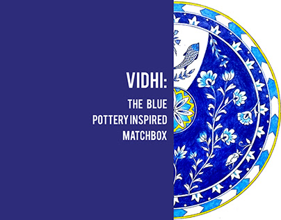 Vidhi- The Blue Pottery inspired Matchbox