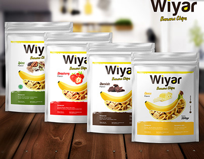 WIYAR BANANA CHIPS PACKAGING