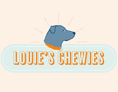 Louie's Chewies Dog Treat Packaging