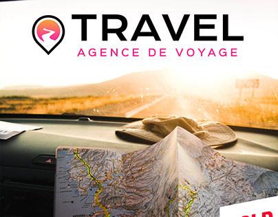 Logotype TRAVEL Agence de voyage