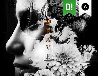 BRAVE ♣ Evolve Art Collective