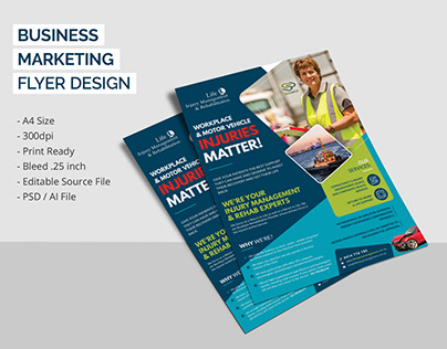 Business or Corporate Flyer Design