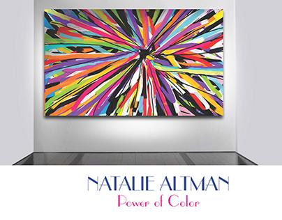 Natalie Altman - Power of Color_Artist Promotion