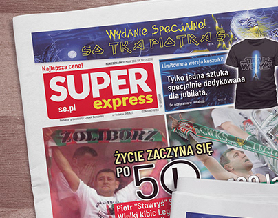 Okładka okolicznościowa Super Express