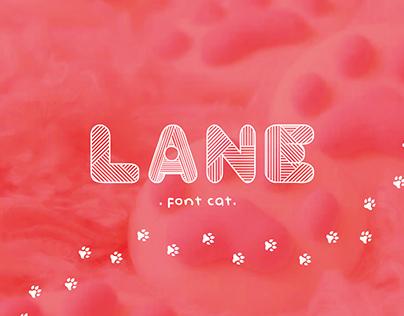 Lane Font Cat