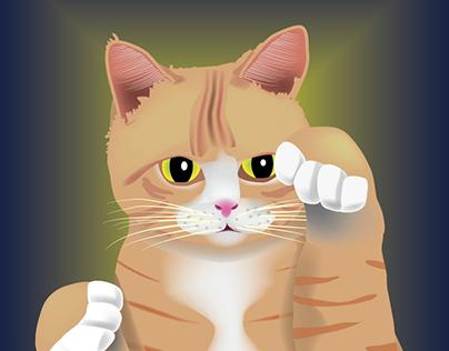 Filing Cat