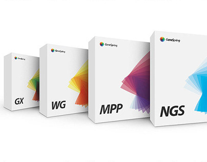 GeneSpring branding & web design