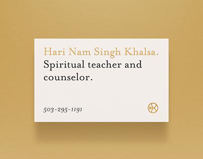 [Marca] Khalsa Consciousness Project