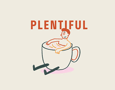 Plentiful Cafe: Brand Identity