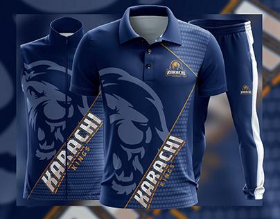 Pakistan Super League 2020 Karachi king Uniform Project