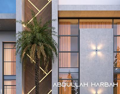 Modern villa design 450 M²