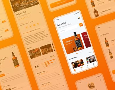 Boom Bar - E-commerce mobile app design