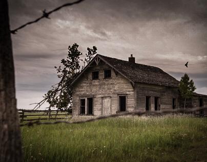 Old Alberta buildings