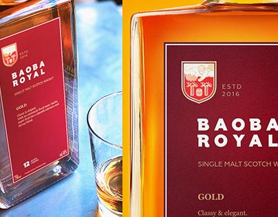 Baoba Royal whisky (concept)
