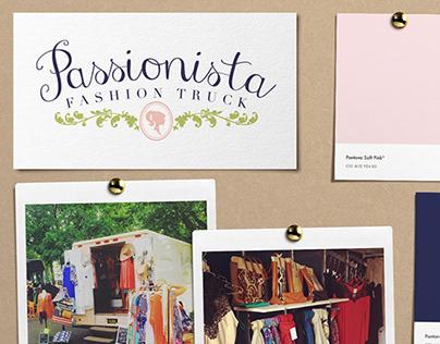 Passionista Fashion Truck   Brand Design