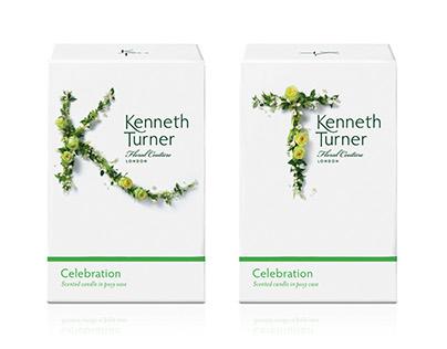 Kenneth Turner branding and packaging