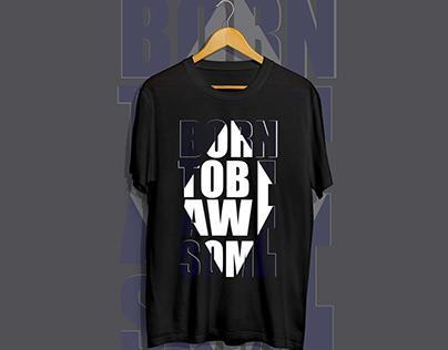 Best Typography T-shirt Design