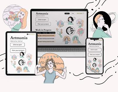 Artmania Website