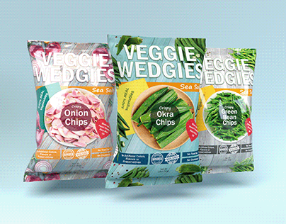 Veggie Wedgies | Vegetable chips