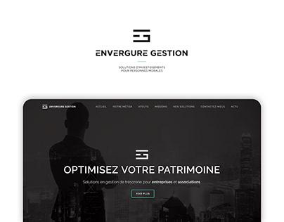 Envergure Gestion   Création site web