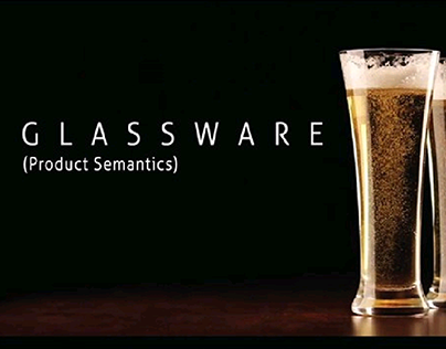 Glassware (Product Semantics)