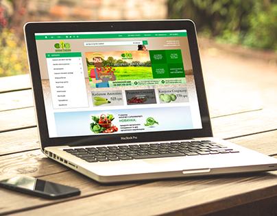 Zelena Sadyba - Internet Shop