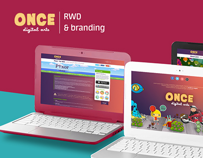 Once Digital Arts - RWD